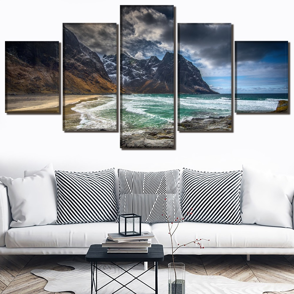 Landscape Decor Painting Modern HD Printed Picture Paintings Canvas Wall Art Artwork Home