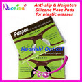20 pairs T2100 Anti-slip Silicone Heighten Nose Pads Sticker for Acetate Plastic Glasses Sunglass 1.8mm 2.5mm Free Shippping