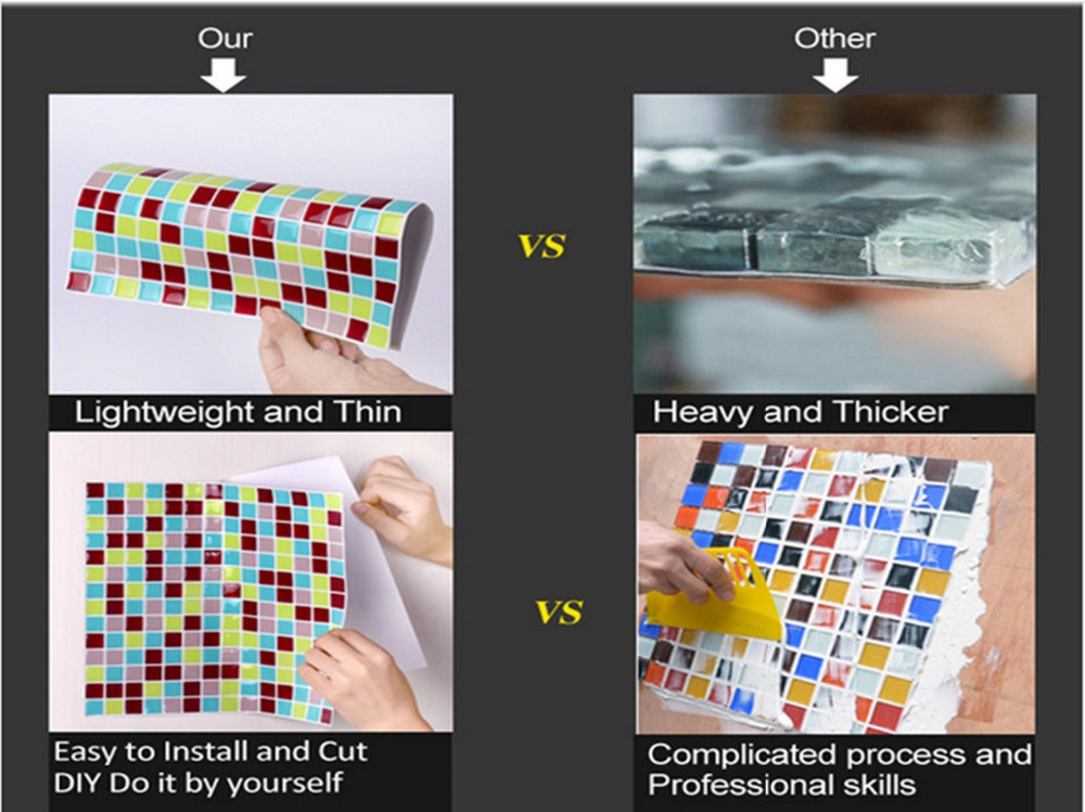 3d Stickers For Kitchen Wall Sticker For Bathroom