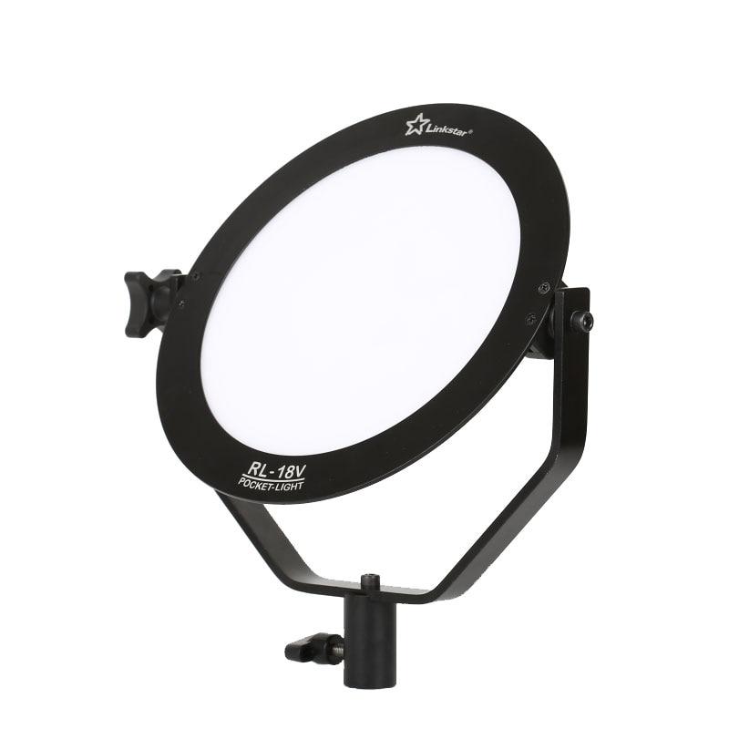 18W 5600K okrogla ultra tanka dnevna svetloba LED foto video snemanje - Kamera in foto - Fotografija 3