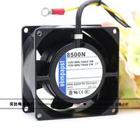 8500N 8 CM 8038 115 V 11/12 W metal de alta temperatura ventilador de refrigeración