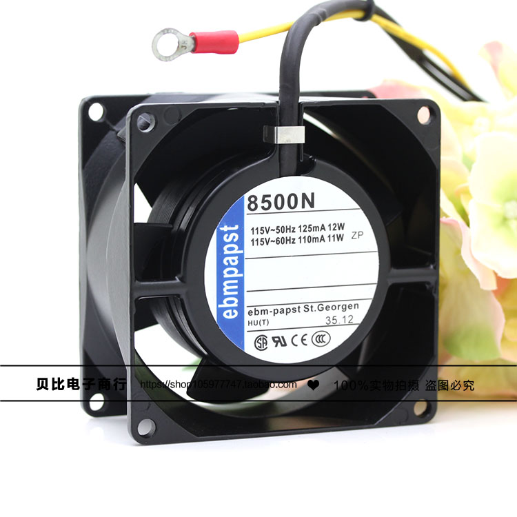 8500N 8CM 8038 115V 11 / 12W metal high temperature cooling fan cpu cooling conductonaut 1g second liquid metal grease gpu coling reduce the temperature by 20 degrees centigrade