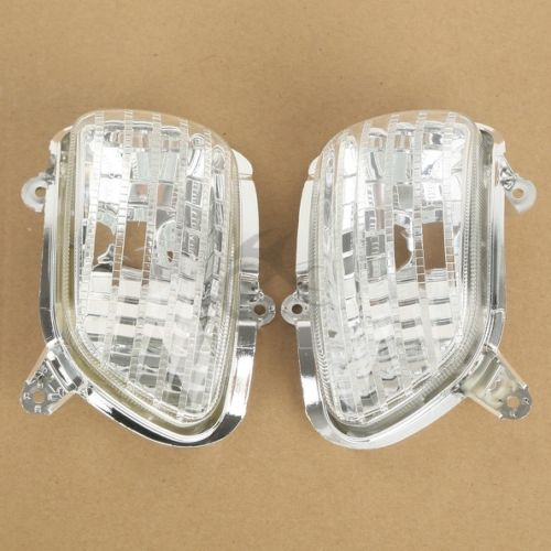 Clear Front Turn Signal Lights Lens Shell For Honda Goldwing GL1800 2001 2002 2003 2004 2005 2006 2007 2008 2009 10 11 12 13 14