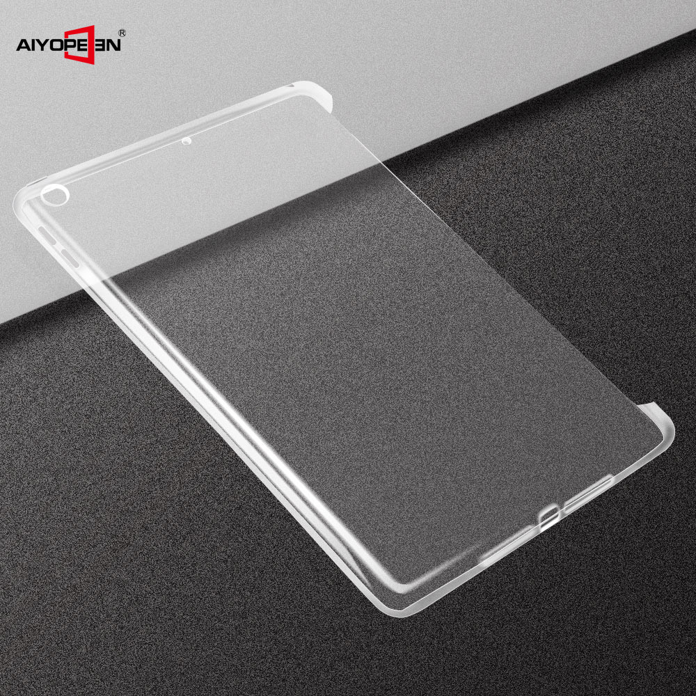 Case For Ipad 9.7 2018, AIYOPEEN Transparent Shockproof Shell Soft Clear TPU Slim Back Cover For Ipad 9.7 2017