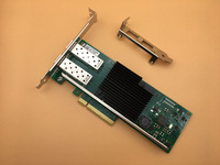 New Network Ethernet Converged Adapter Desktop PCI Express Network Card 10Gb X710 DA2 For Intel