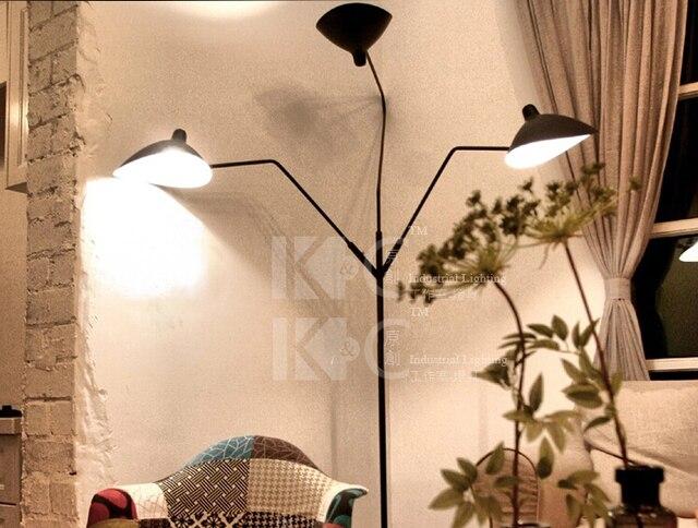 Zwarte Slaapkamer Lamp : Mode kunst thuis staande lamp moderne korte stof slaapkamer