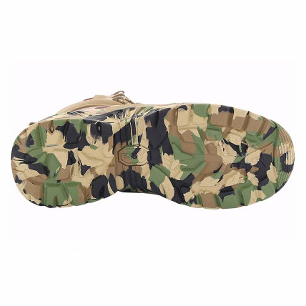 TENNEIGHT/уличные тактические ботинки для пустыни и охоты; мужские военные ботинки; камуфляжная спортивная обувь для альпинизма; обувь для путешествий и прогулок - 3