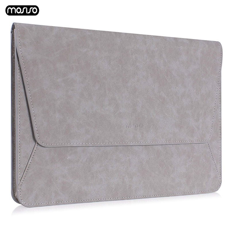 MOSISO PU Leather Laptop Sleeve Bags Case 13.3 inch Notebook Bag for Macbook Air 13 inch Model A1466 A1369 Pro 13 Retina 13 Cove-in Laptop Bags & Cases from Computer & Office