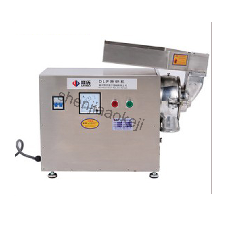 electric grinder Chinese medicine Ingredients crusher powder mixer water mill ultra-fine grinding machine DLF50 4800R/MIN  1pc high quality 300g swing type stainless steel electric medicine grinder powder machine ultrafine grinding mill machine