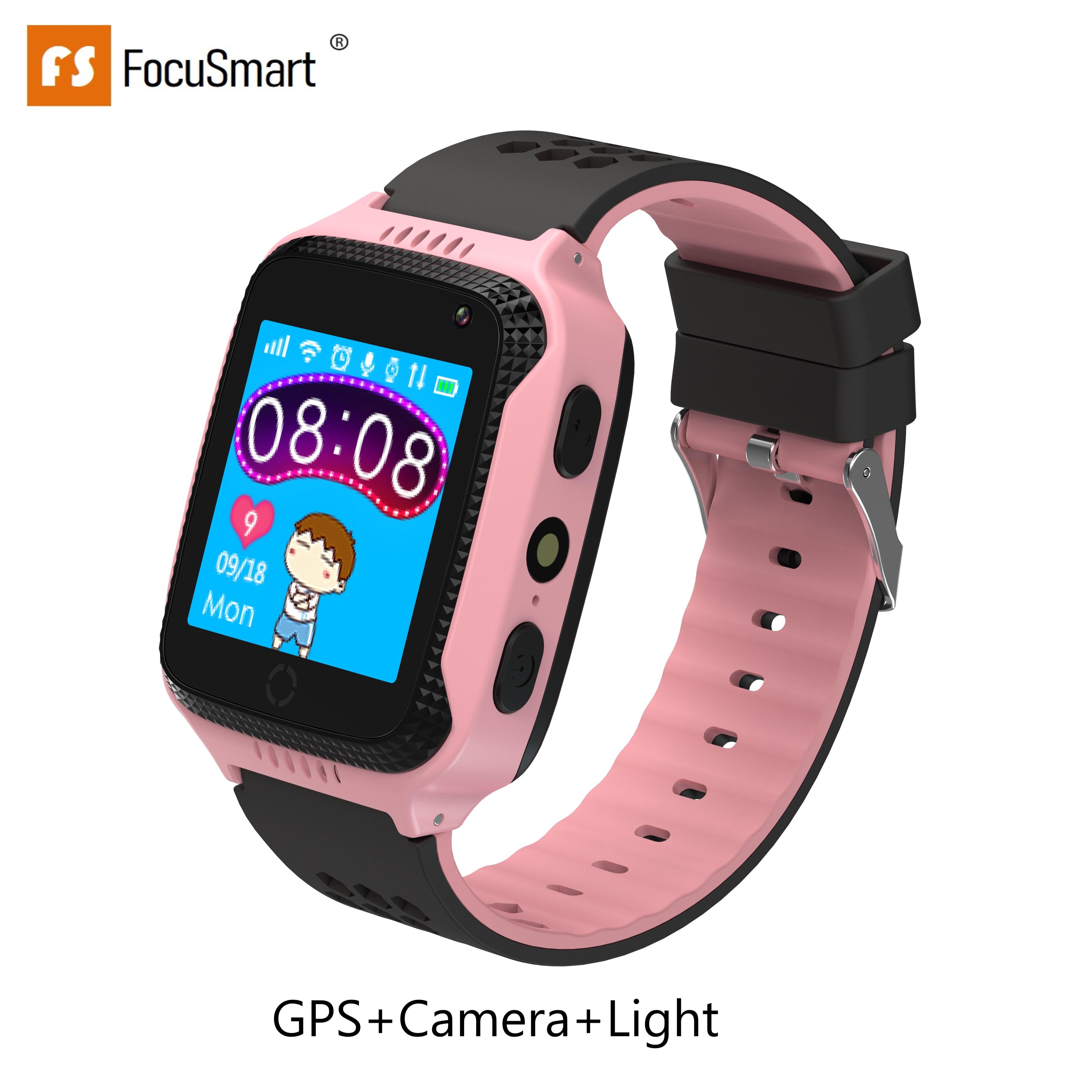 Focus mart Q528 GPS enfants montre intelligente avec écran tactile caméra GPS Tracker montre intelligente enfants moniteur SOS pour enfant coffre-fort PK Q50Q90
