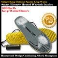 Favo de mel de Amortecimento Sporty 3600 mAh Outdoor Ski & Caminhadas USB Inteligente Bateria De Lítio Auto Palmilhas De Aquecimento Elétrico, Quente 6 h, 36-46yards