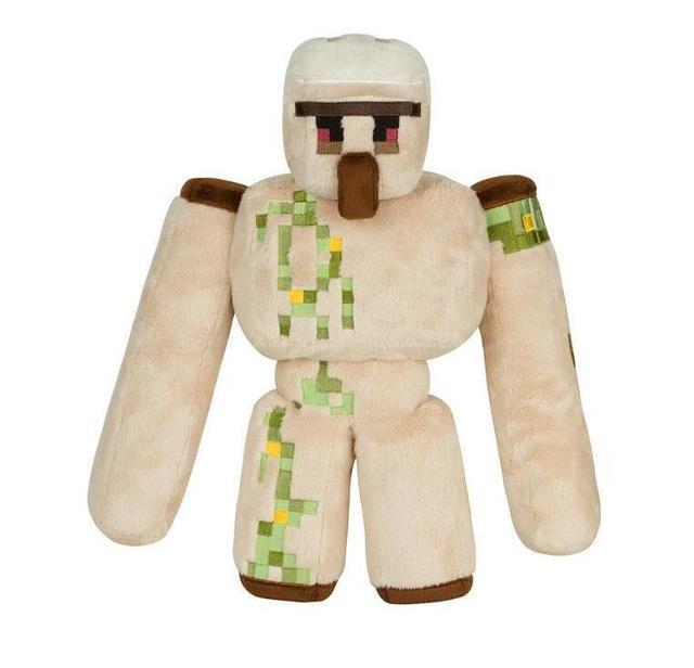2017 Новый 36 см Железный Голем Minecraft Плюшевые Игрушки Фигурку Дети Плюшевые Игрушки Куклы Для Подарка 0.27 кг Бесплатно доставка