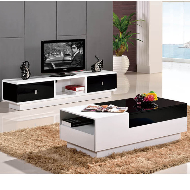 New Screen TV Cabinet Modern Minimalist Furniture Retractable Coffee Table  TV Cabinet TV Cabinet Combination Cabinet In Bar Tables From Furniture On  ...