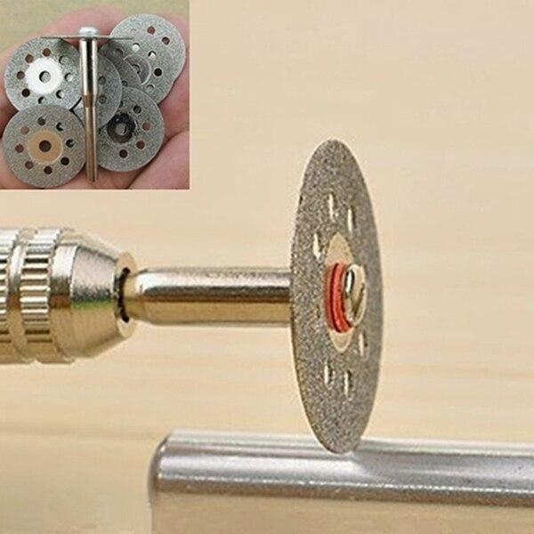 12 Pcs Rotary Tool Circular Saw Blades Cutting Wheel Discs Mandrel Dremel Cutoff  JD9 WWO66