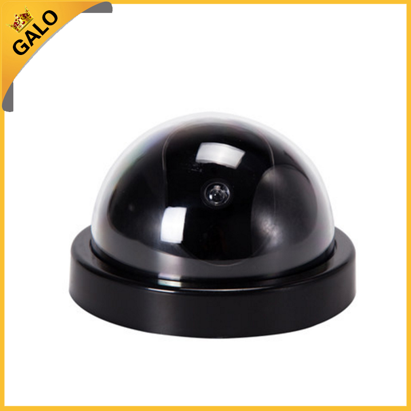 Galo Fake Camera AA Battery for Flash Blinking LED Dummy House Safety Home Security Camera Dome Surveillance CCTV Camera image
