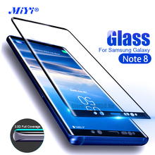 ФОТО  Samsung Galaxy Note8 Case Screen Protector 3D Curved Tempered Glass  Samsung Galaxy Note8 SM-N950F Full Cover Edge Film