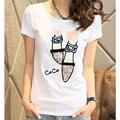 Летом стиль футболки топы тис 2017 т рубашки женщины футболку vetement femme roupas femininas camisetas девушку одежда плюс размер XXXL