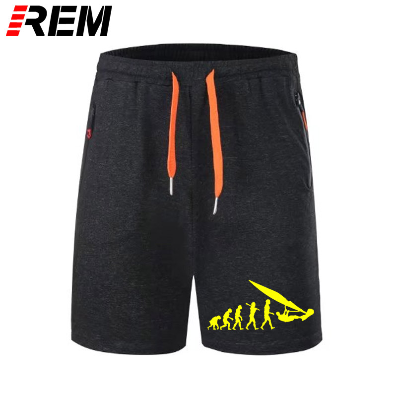 REM Hot Selling Short Pants Funny Vintage Born To Windsurf Evolution Funny Scanties Breechcloth Panties For Men