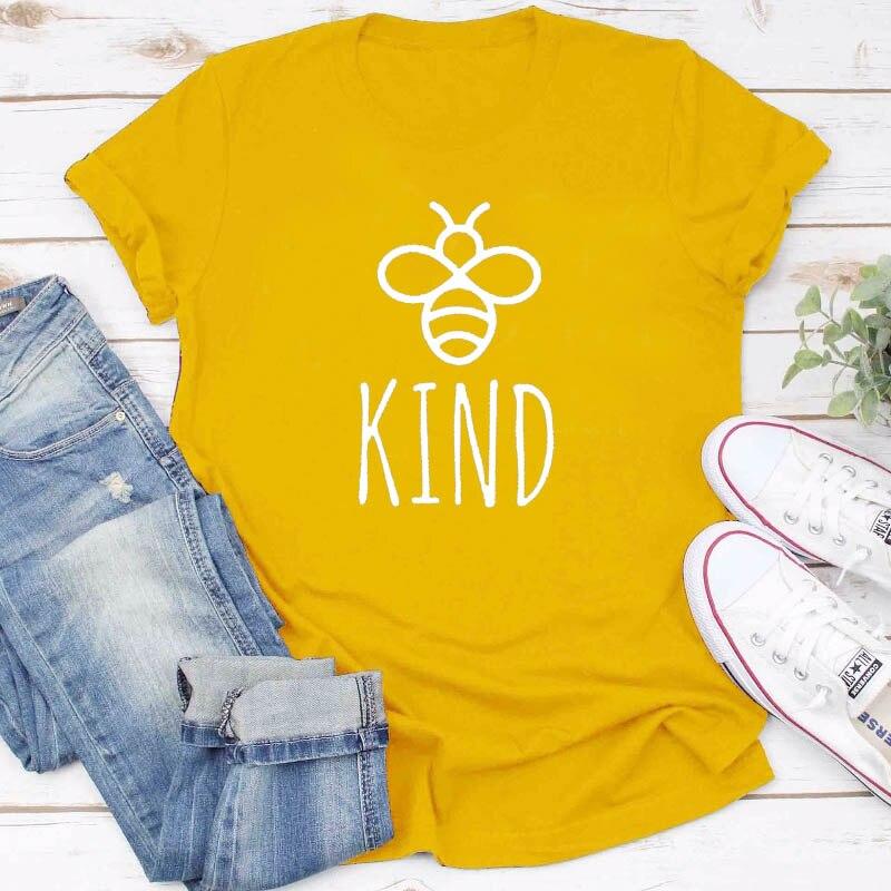 Werden Art Graphice T Shirt Frauen Baumwolle Übergroßen T-shirt Sommer Mode Bienen Drucken Top Harajuku T-shirt Unisex T Drop Verschiffen