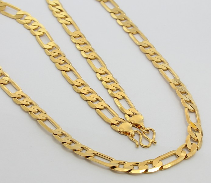 24k Gold Necklace Ttdn30 24k Gold 8mm Long Chains