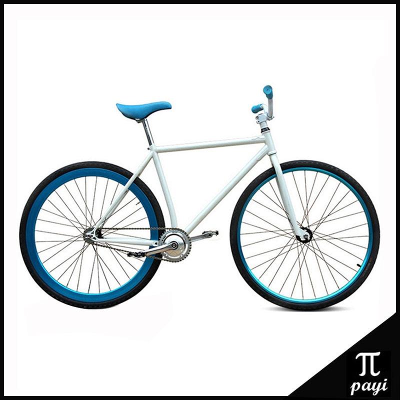 Fixie Fahrrad DIY 700C 46 CM Retro Stahlrahmen Bicicleta Festrad ...