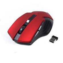 4 Colors Optical Wireless Mouse Computer Mouse USB 2.4G Receiver 6 Buttons Gamer Mouse Ergonomic Design 10M Work Range