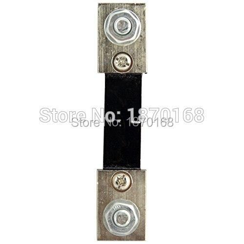 100A 75mV FL-DC Corrente Resistore Shunt per Digital Panel Amp Ampere Meter  MET 670884951de