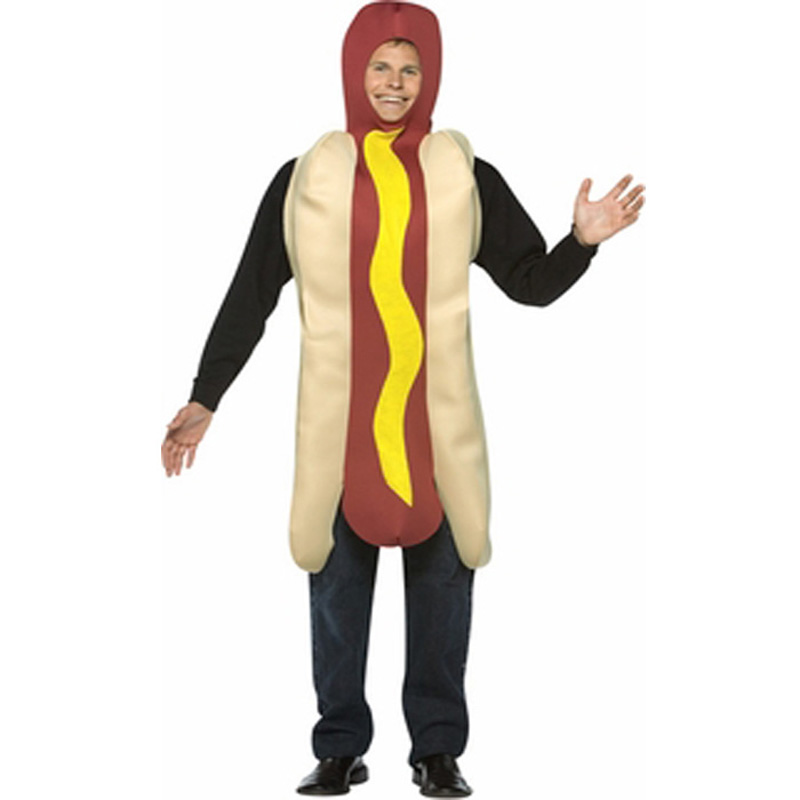 Adult Light Weight Hotdog Funny Costume