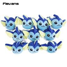 Plush Toys Flareon Vaporeon Leafeon Jolteon Mini Soft Stuffed Animal Plush Pendant Dolls Children Gift 10pcs/lot
