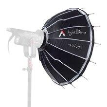 Aputure свет купол мини софтбокс Рассеиватели для вспышки для Light Storm 120 и удара 300 серии Bowens светодиодные фонари