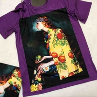 Unisex Runway T Shirt Summer Top Tees Brand Designer Women S T Shirt Short Sleeve Vintage