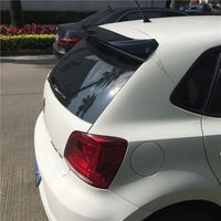 MONTFORD Car Styling ABS Plastic Unpainted Primer Color Rear Trunk Wing Roof Spoiler For Volkswagen VW