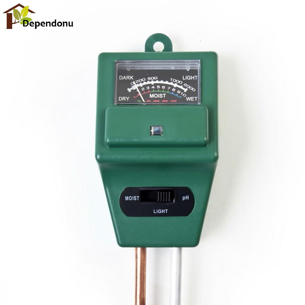 Misuratore di pH digitale 3 in1 Misuratore di umidità per acqua di - Strumenti di misura - Fotografia 6