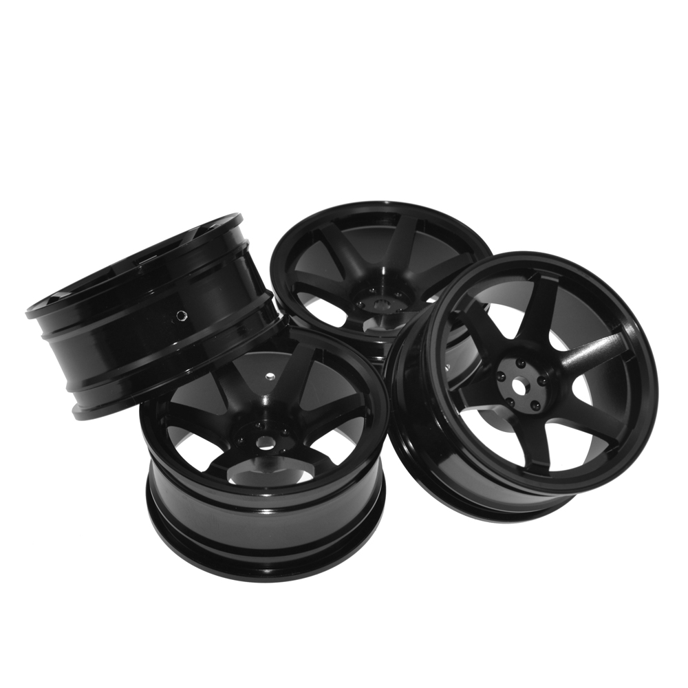 1 10 Rc Drift Car Aluminium Alloy Wheel Hubs Diameter 52mm For Hsp
