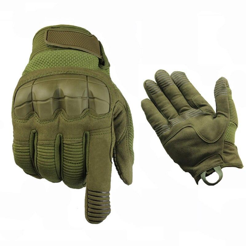 Guantes Tácticos Al Aire Libre Militar Ejército Caza Paintball Airsoft Armadura Protección Guantes De Dedo Completo Senderismo Ciclismo Guantes Deportivos Precioso Lustre