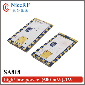 Image 4 - 2 ピース/ロット SA818 新世代 RDA1846S チップ VHF 134 〜 174 MHz/UHF 400 480 MHz 1 ワット 30dBm アナログトランシーバーモジュール