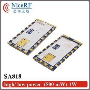 Image 4 - 2 adet/grup SA818 Yeni Nesil RDA1846S Çip VHF 134 ~ 174 MHz/UHF 400 480 MHz 1 W 30dBm Analog Walkie Talkie Modülü