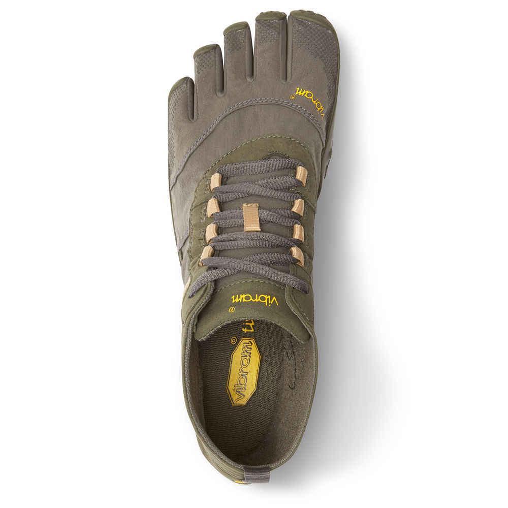 ee336646d32 Vibram Fivefingers V-Trek men Sneakers Outdoor Sports Five fingers Winter  Comprehensive Training Hiking Mountain Climbing Shoes