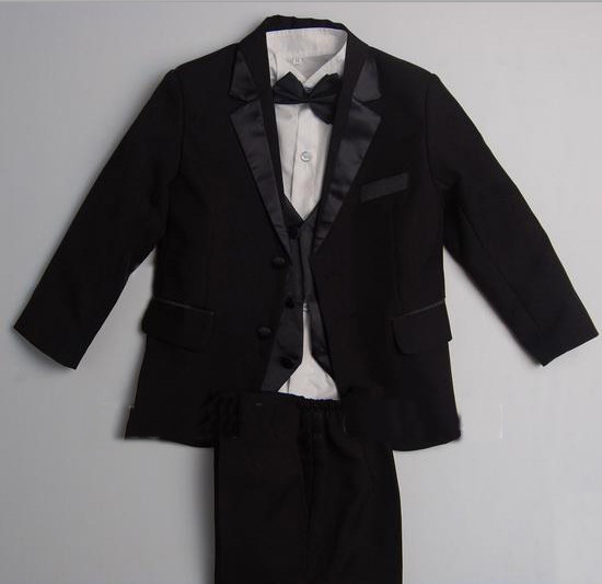 Free shipping/Custom made cheap NEW BLACK TUXEDO BOYS FORMAL SUIT/wedding Boys Attire/kids tuxedoFree shipping/Custom made cheap NEW BLACK TUXEDO BOYS FORMAL SUIT/wedding Boys Attire/kids tuxedo