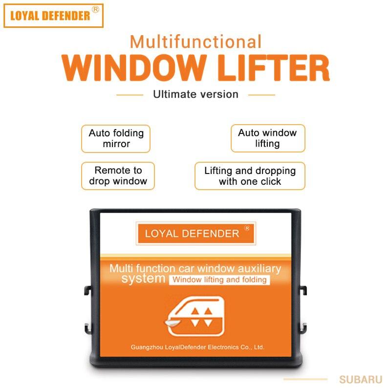 Car Auto Power Window Closer Mirror Folder For Subaru  Power Window Closer Module Window Roll Up Window Control Device