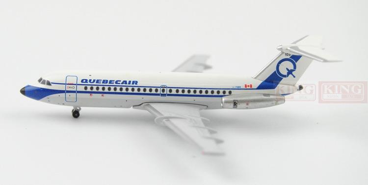 QUEBECAIR BAC-111 C-FQBR 1:400 Aeroclassics commercial jetliners plane model hobby