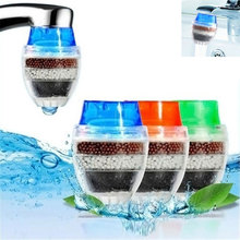 купить Tap Water Filter Purifier Household Kitchen Multi-layer Activated Carbon Filter дешево