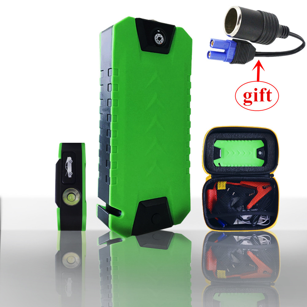 Car Jump Starter Portable 600A Starting Device Power Bank 12V Petrol Diesel Start-Car Charger For Car Battery Booster Compass CE 2017 starting device car jump starter 800a pack portable car starter power bank charger for car battery booster petrol diesel ce