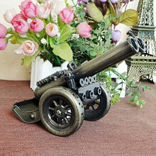 lovely delicate classic collectible metal ancient weapon cannon model building toys for children and adults home