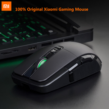 Оригинальный Xiaomi Проводная игровая мышь USB мышь геймер беспроводной 2,4 ГГц игры двойной режим 7200 точек на дюйм мыши Компьютерные для MacOS оконные рамы