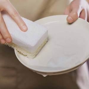 Image 2 - 3 יח\חבילה Youpin JieZhi שלוש שכבה מרוכבים לשטיפת כלים מברשת מטבח ספוגים ניקוי ביתי ידידותית לסביבה הגעלה רפידות