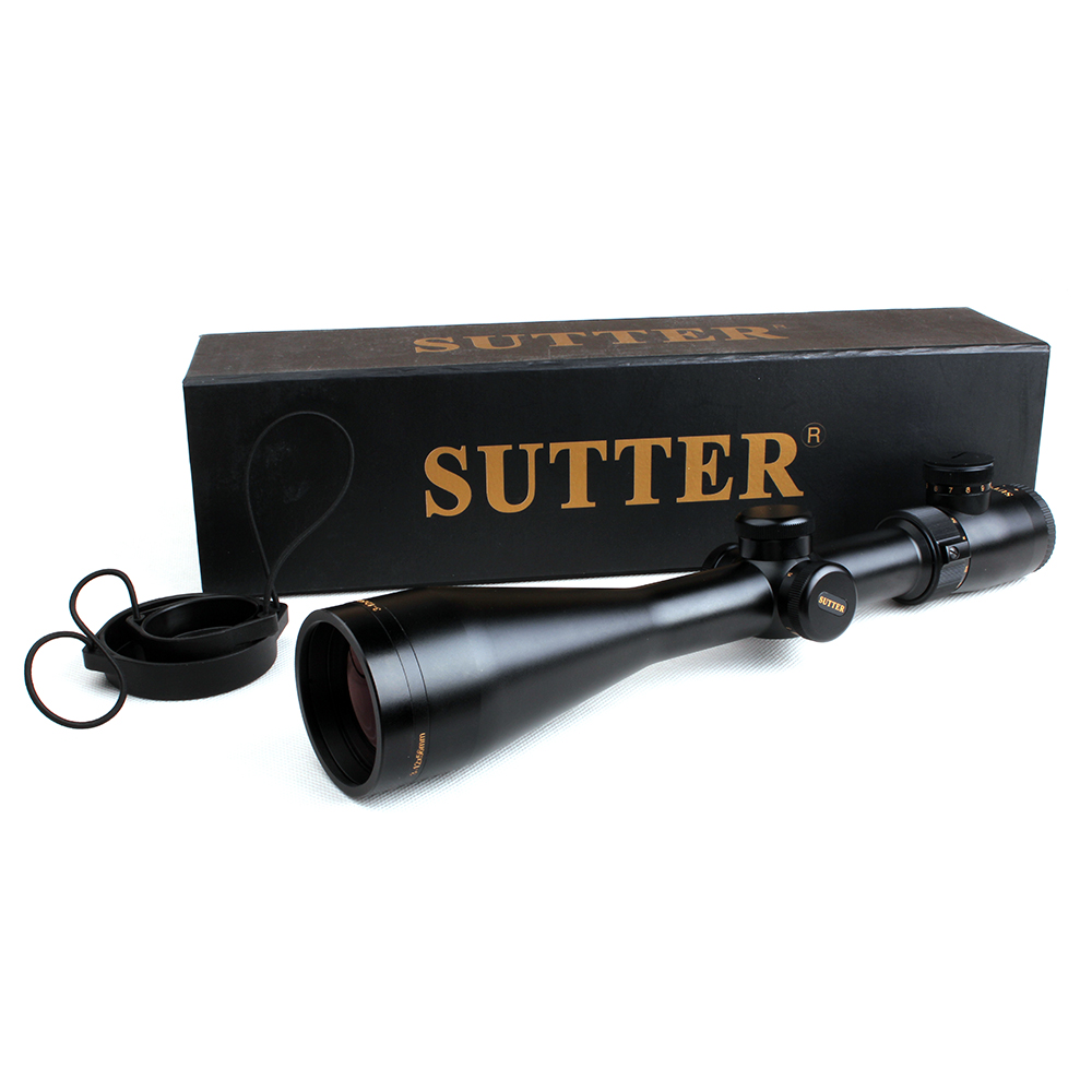 Tactical SUTTER 3-12X56 R12/R29 Glass Etched Reticle Red Illuminate Side Parallax Optical Sight For Hunting  Rifle Scope r 12