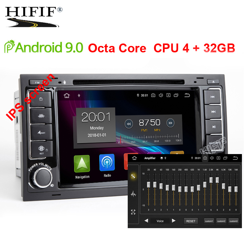 IPS SCREEN DSP 4G 2 din Android 9 0 CAR DVD PLAYER For VW Touareg T5