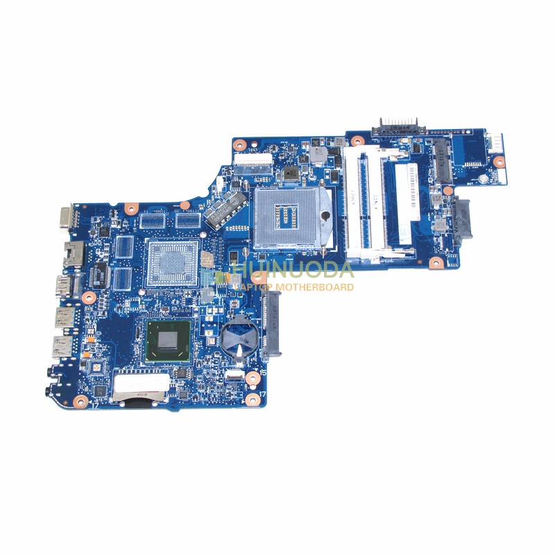 NOKOTION for toshiba satellite C850 laptop motherboard 15.6'' HM77 HD4000 Graphics DDR3 Mainboard H000052600 nokotion for acer aspire v3 771 laptop motherboard va70 vg70 mainboard rev 2 0 pga989 hm77 ddr3 one hdd connector