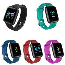D13 Multi-color Waterproof Touch Screen Smart Band Heart Rate Blood Pressure Oxygen Monitor Sport Smart Wristband(China)
